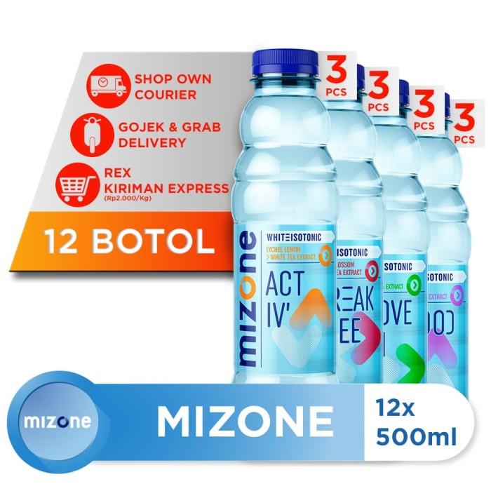 harga Mizone isotonik bernutrisi mix variants 500ml (12 botol) Tokopedia.com