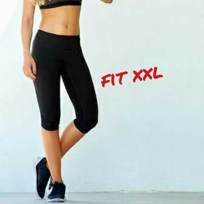Jual Celana Legging 3 4 Hitam Jumbo Celana Wanita Big Size 3 4 Jakarta Timur Alesha Baselayer Tokopedia