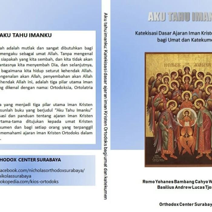 Foto Produk Aku Tahu Imanku dari Kios Ortodoks ST NIKOLAS