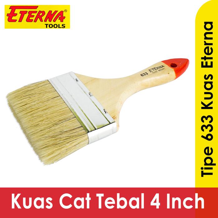 harga Kuas eterna bulu tebal 4 inch kuas cat tembok besi kayu 633 Tokopedia.com