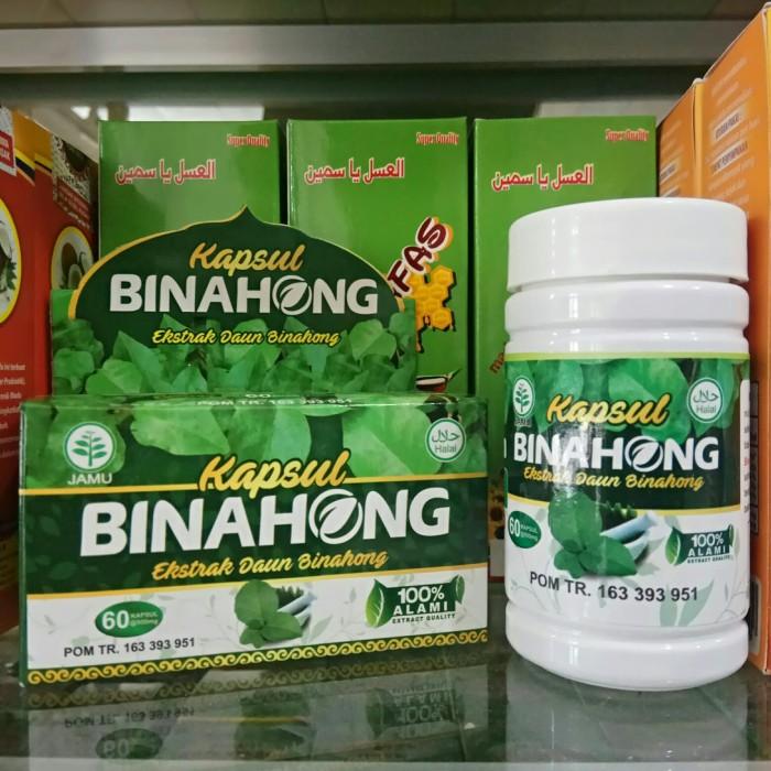 Foto Produk BINAHONG 60 Kapsul Ekstrak Daun Binahong dari harga grosir 01
