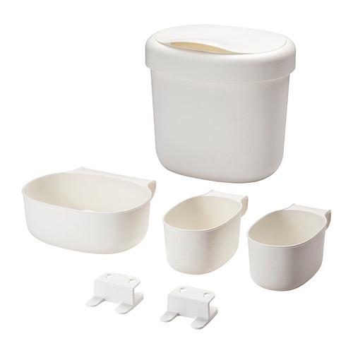 harga Onsklig keranjang untuk meja ganti popok isi 4 warna putih Tokopedia.com