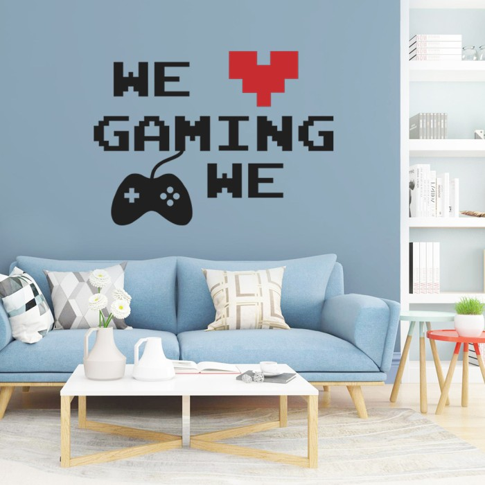 Jual New Game Wall Sticker Living Room Wall Decorations Jakarta Barat Executive Safira Shop Tokopedia