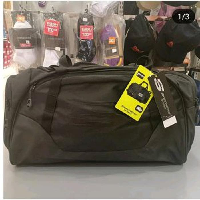 c7e7975eb7 Jual travel bag skechers tas gym fitness bag skechers original ...