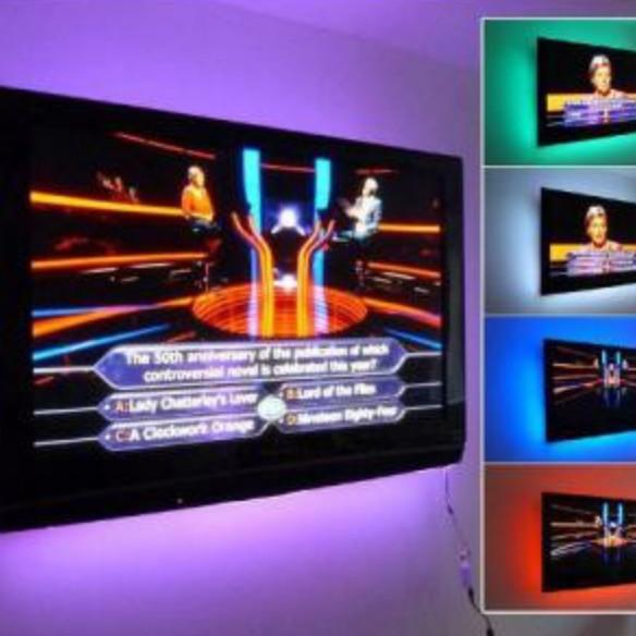 harga Lampu led strip rgb controller remote usb dekorasi tv meja aquarium Tokopedia.com