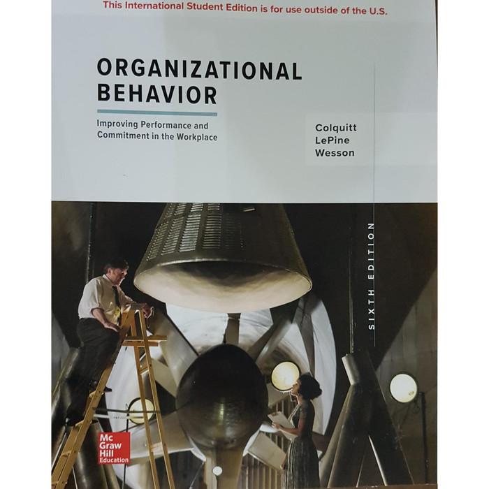 harga [ original ] organizational behavior 6e - colquitt Tokopedia.com