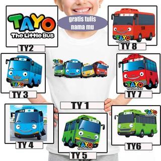 Foto Produk KAOS BAJU ANAK ANAK KIDS TAYO 01 - 08 dari Cuci Gudang X-Plus