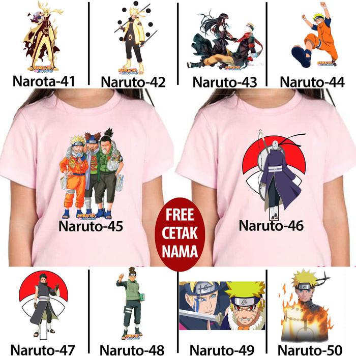 Foto Produk kaos baju anak anak kids naruto 41 - 50 dari Cuci Gudang X-Plus