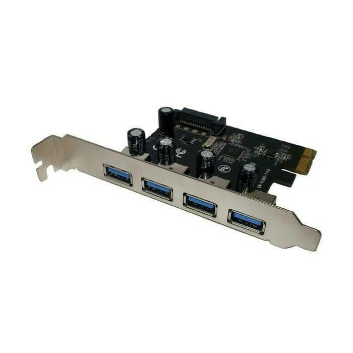 Foto Produk Netline PCI Express To USB 3.0 - 4 Port dari Enter Komputer Official