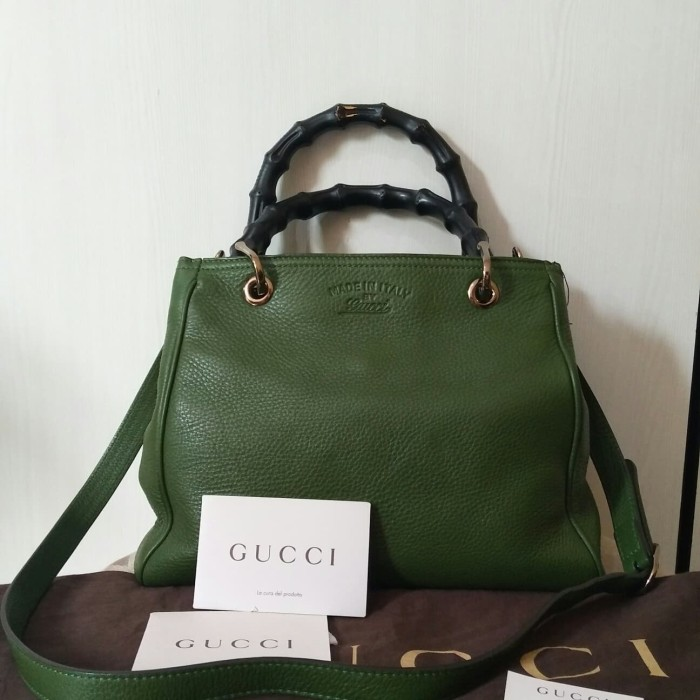 Jual Preloved Gucci Bamboo Bag Kab