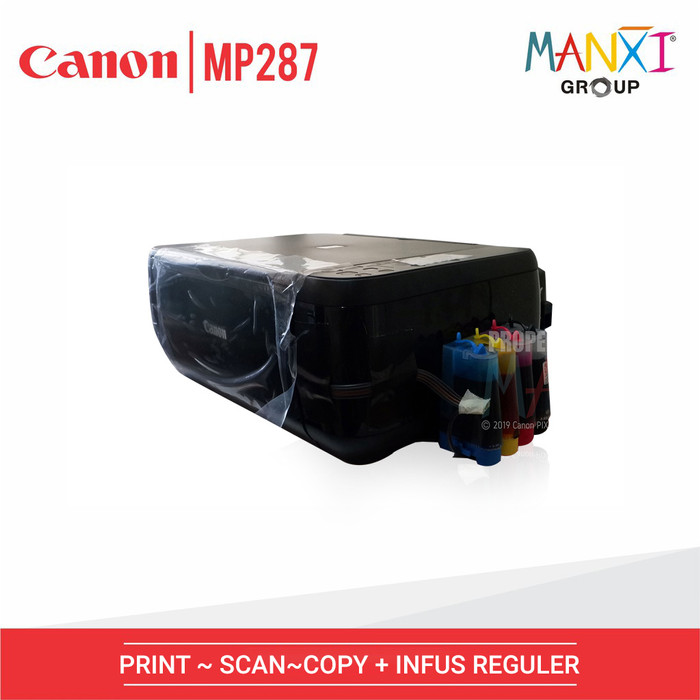 harga Printer ink jet canon mp287 multifungsi infus reguler manxi Tokopedia.com