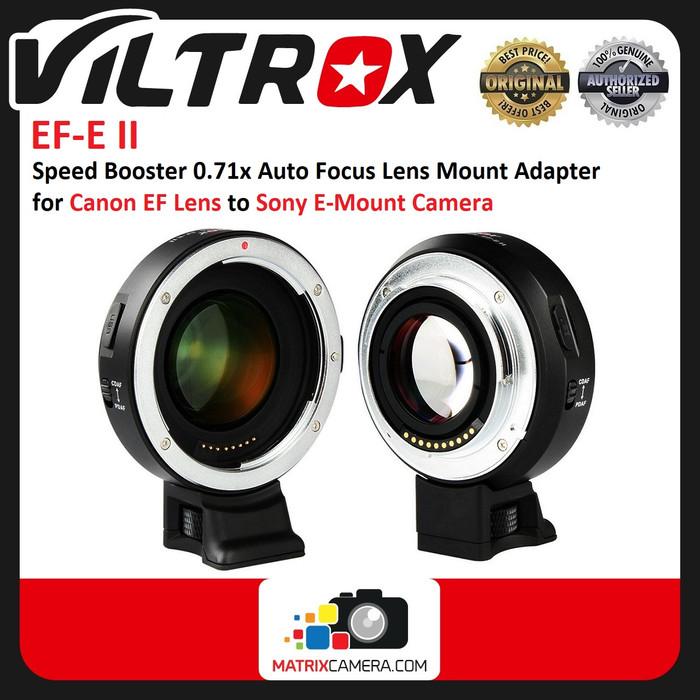 Foto Produk Viltrox EF-E Adapter Speed Booster for Canon EF Lens to Sony Camera dari MatrixCamera