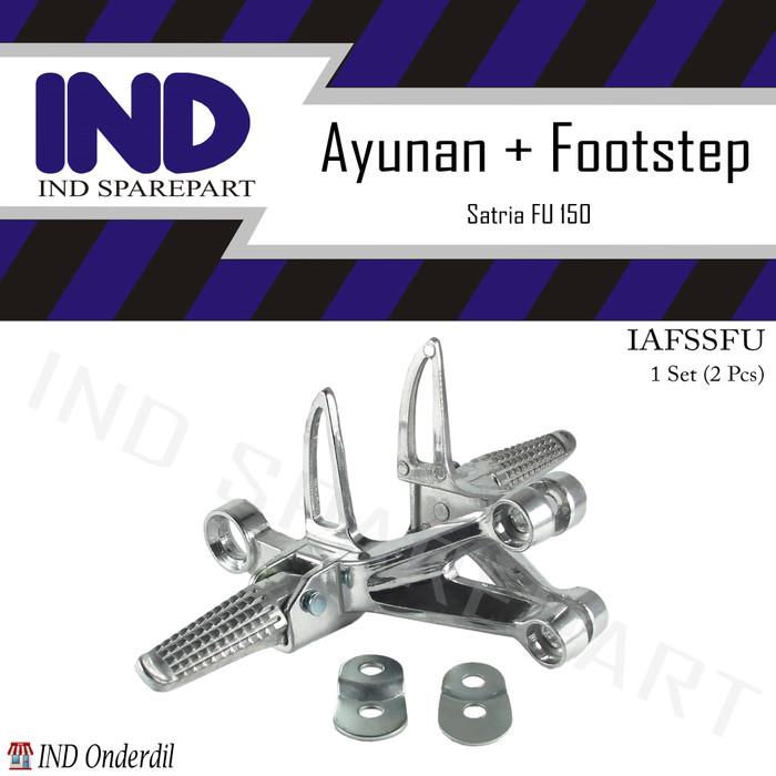 harga Besi footstep-foot step gantung belakang silver-chrome satria fu-f 150 Tokopedia.com