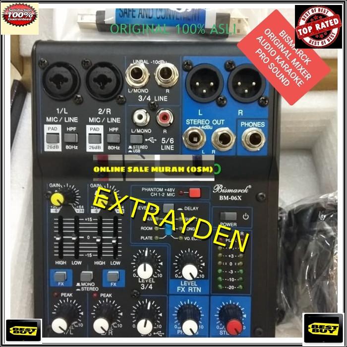 harga Bm26 mixer meja bismarck original german teknologi elektronik audio dj Tokopedia.com