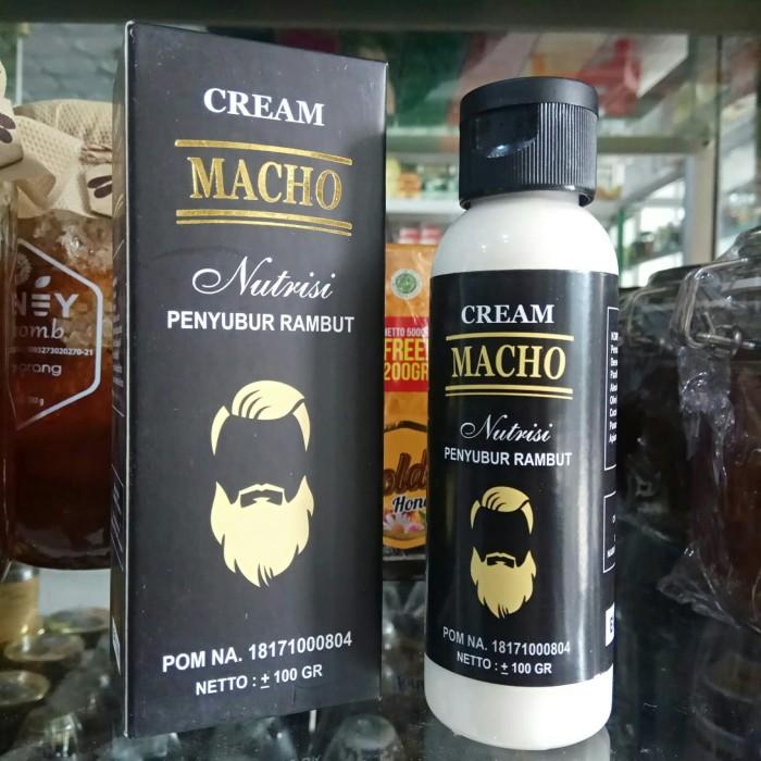 Foto Produk Cream Macho Nutrisi Penyubur Rambut Jenggot dari harga grosir 01