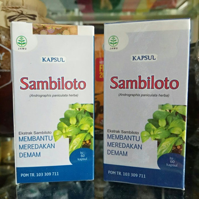 Foto Produk Sambiloto 60 kapsul TAZAKKA Andrographis Paniculata Herba dari harga grosir 01