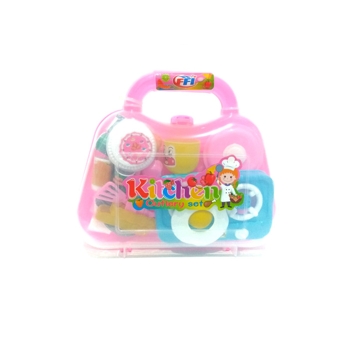 Foto Produk Mainan Kitchen Set Koper Eksklusive dari Babyboo Mlg