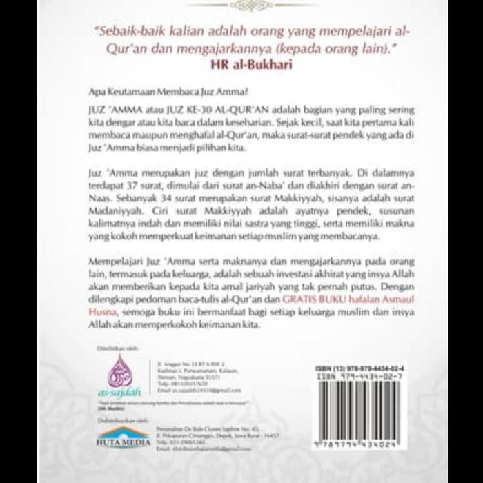 Jual Buku Baca Tulis Alquran Juzamma Terjemah Arab Latin Dki Jakarta Tokofulu Tokopedia
