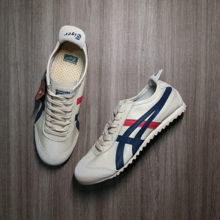 pretty nice 883dc adbe4 Jual Sepatu asics onitsuka tiger mexico 66 original leather material - , -  Kota Bandung - c&n united | Tokopedia