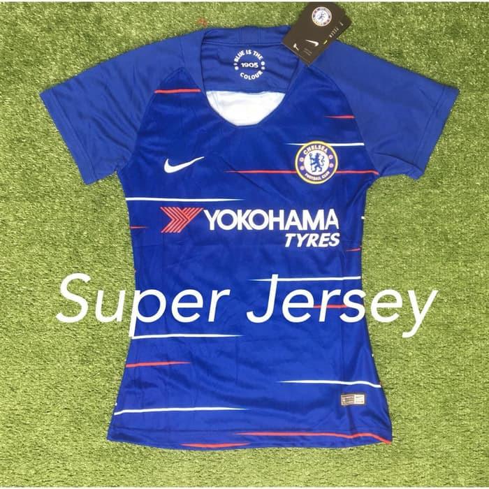 4672acc1593 Info Harga Super Jersey Chelsea Home Ladies Grade ORI Kaos Bola ...