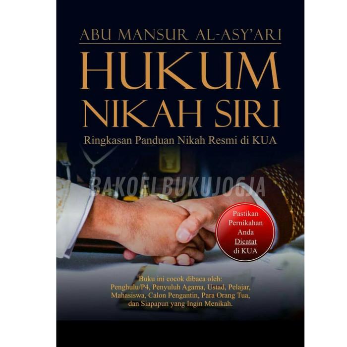 Jual Buku Hukum Nikah Siri Buku Asli Kota Yogyakarta Bakoel Buku Jogja Tokopedia