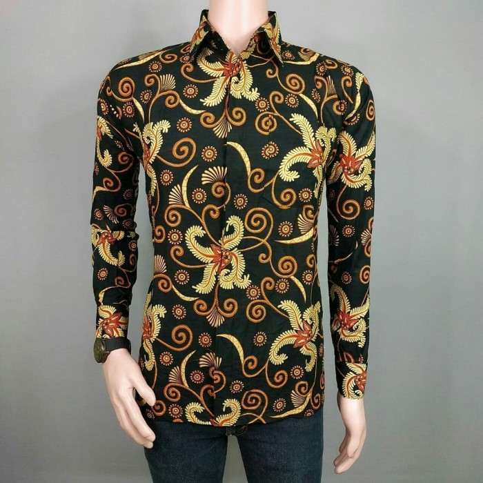 Image de Eau: Desain Baju Batik Simple Pria