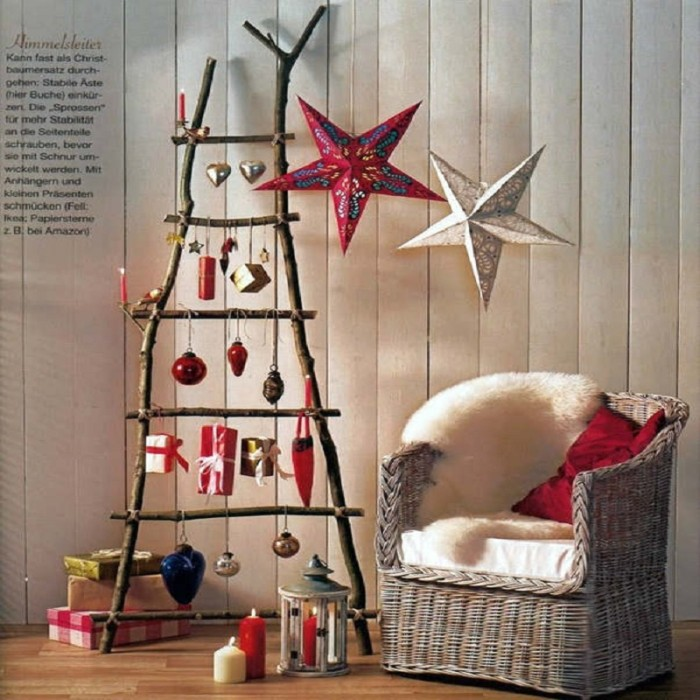 New 2017 Christmas Decoration Christmas Tree Star Pentagram