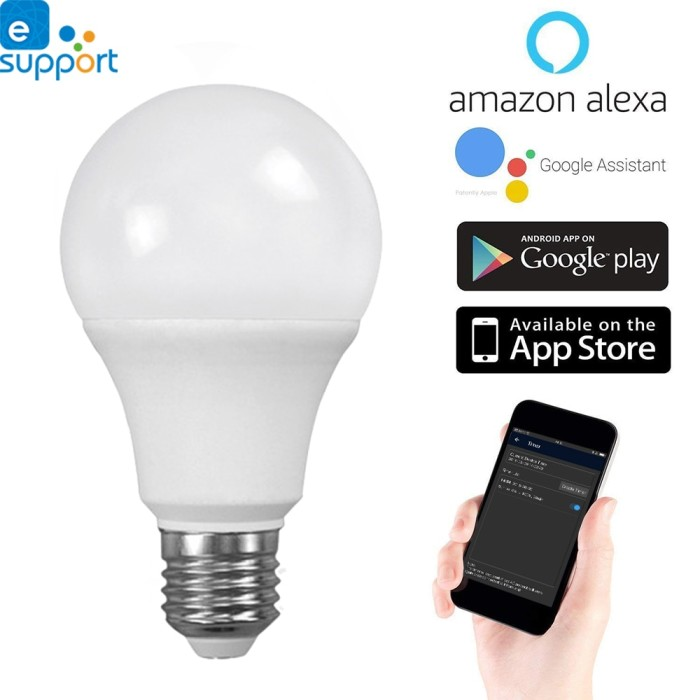 Wifi Light Bulb >> Jual Timethinker Smart Led Wifi Light Bulb Ewelink App 5 5w E27 Led Lamps Kota Surabaya Moskov Store Tokopedia