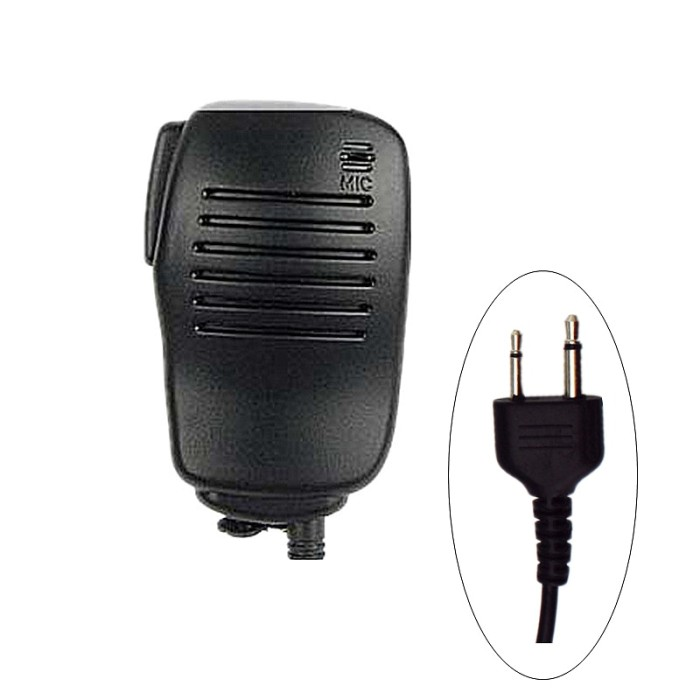 Heavy Duty Hand//Shoulder Speaker Mic For Icom Two Way Radio Walkie Talkie