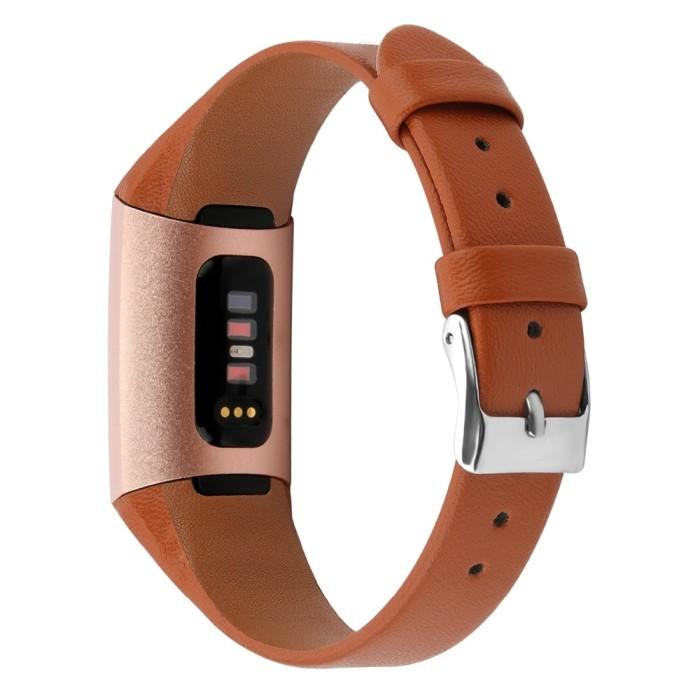 Jual COMLYO Genuine Leather Strap For Fitbit Charge 3 Band Straps - Kota  Surabaya - Tukuo_Store   Tokopedia