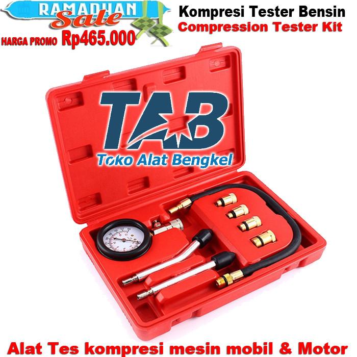 Foto Produk Kompresi Tester Compression Tester Kit Alat Tes Kompresi Mesin Mobil & dari Toko alat bengkel