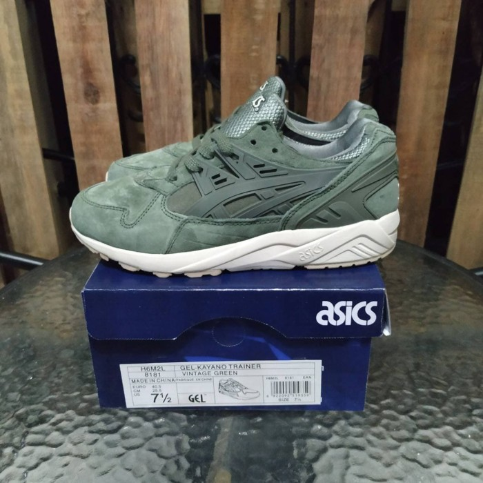 outlet store d1db0 6a73f Jual Asics Gel Kayano Trainer Agave Green - DKI Jakarta - gus7i   Tokopedia
