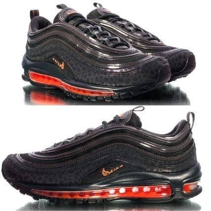 newest 71f08 9d372 Jual Nike Air Max 97 SE Reflective Total Oren Sepatu Sneakers Olahraga Pria  - DKI Jakarta - Damari | Tokopedia