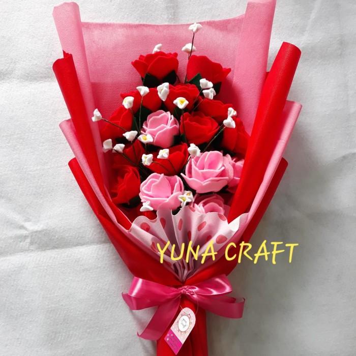 Jual Buket Bunga Flanel Besar Kado Ultah Wisuda Anniversary Kab Mojokerto Yuna Craft Tokopedia