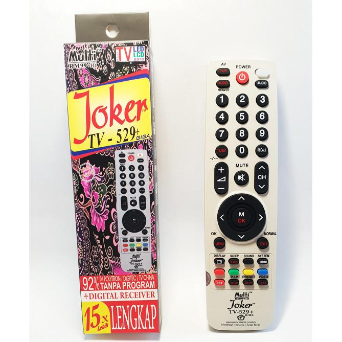 Jual Remote Tv Universal Joker Tv 529 Kota Medan Indo Rama Abadi Tokopedia