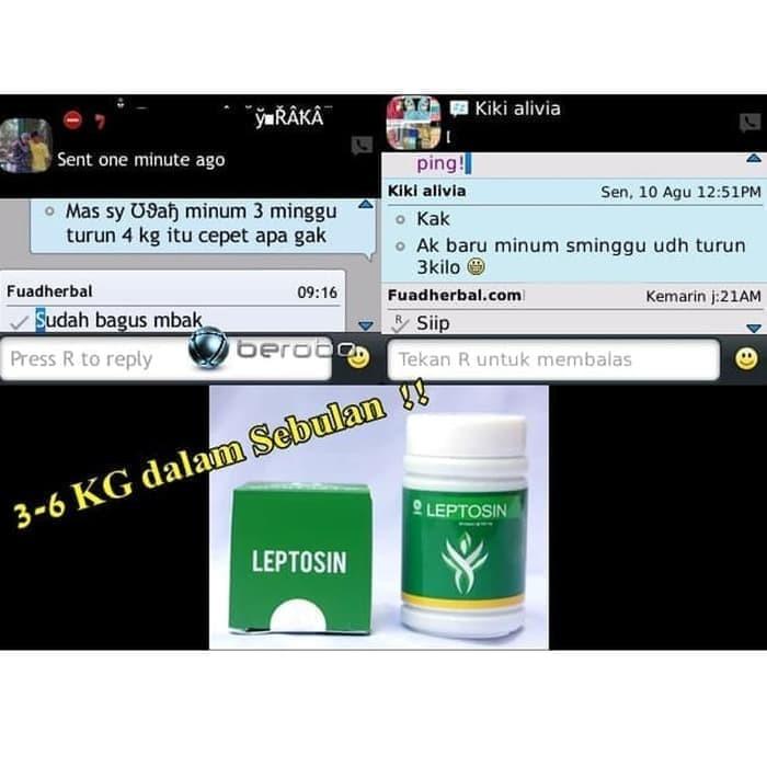 Foto Produk Obat Pelangsing Diet Leptosin Penghilang Lemak Kurus Tubuh,Perut Ampuh dari Istiqomah-Store