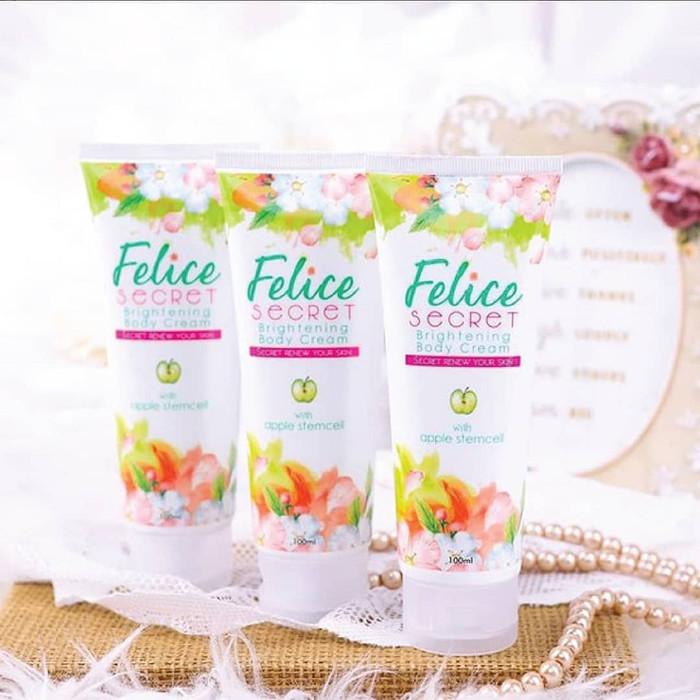 Foto Produk Pemutih Seluruh Badan Instan Felice Secret Asli Original BPOM Terlaris dari Istiqomah-Store