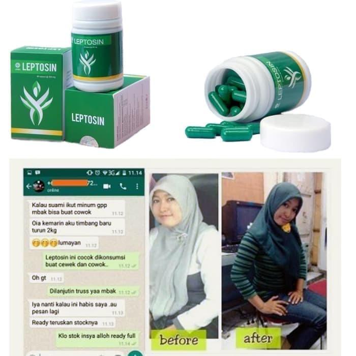 Foto Produk Obat Pelangsing Badan Diet Pembakar Lemak Tubuh,Perut Leptosin BPOM dari Istiqomah-Store