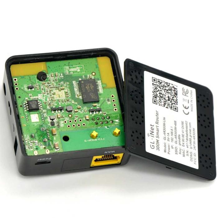Jual GL iNet Shadow OpenWRT Mini Smart Router DDRII 128MB - GL-AR300M-Lite  - DKI Jakarta - Kingofd Shop | Tokopedia