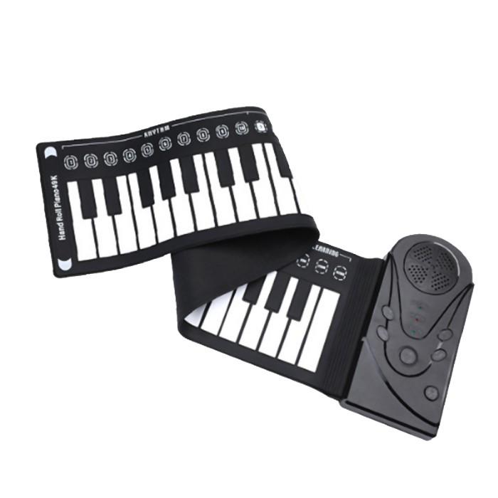Jual Promo Portable 49 Keys Piano Roll Up Tangan Keyboard Elektronik Jakarta Selatan Catchy Shopping Tokopedia