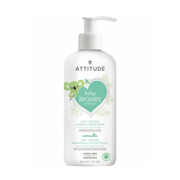 harga Attitude - 2in1 - sabun & shampo bayi - sweet apple Tokopedia.com