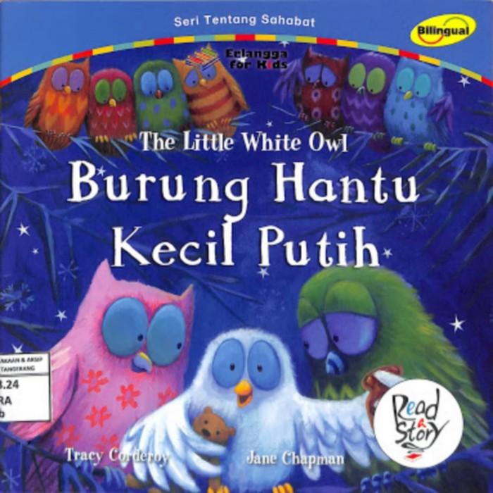 Jual Buku Anak Burung Hantu Kecil Putih Erlangga For Kids