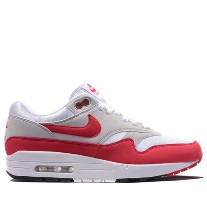 Jual Sepatu Lari Original Nike Air Max 1 Anniversary OG Sport Red 908375103 Kab. Banyumas sepatuoriginale | Tokopedia