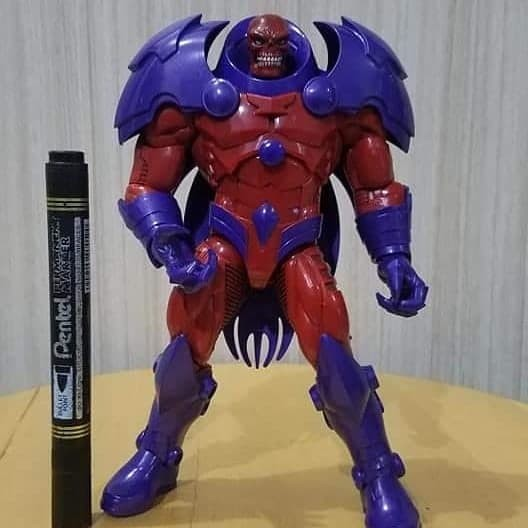 "Marvel Legends 6/"" Inch Build a Figure BAF Red Skull Onslaught Part Leg Arm Head"