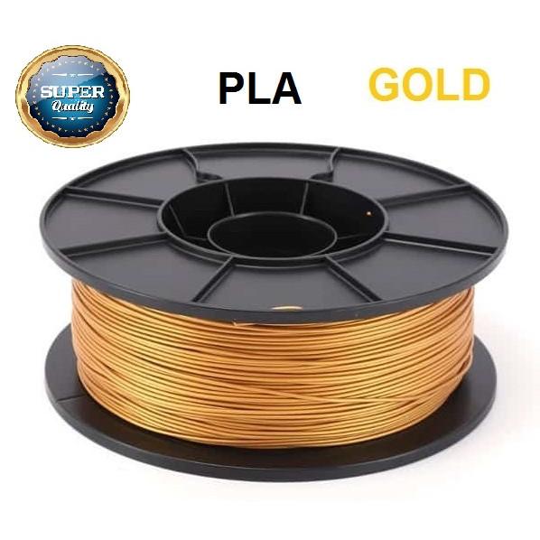Foto Produk SALE Filamen Filament PLA Printer 3D Warna Emas Gold dari voltapro
