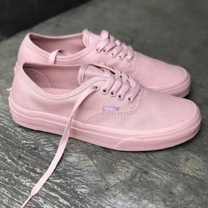 Jual sepatu vans authentic rose pink size 37 48.import Merah Muda, 38 Kab. Tangerang raditya sports | Tokopedia