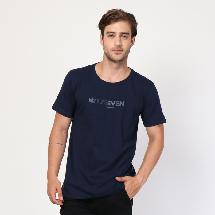 harga 17seven-tshirt-141-exelen nvy - Tokopedia.com