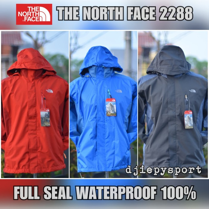 JAKET GUNUNG THE NORTH FACE 2288 WATERPROOF IMPORT
