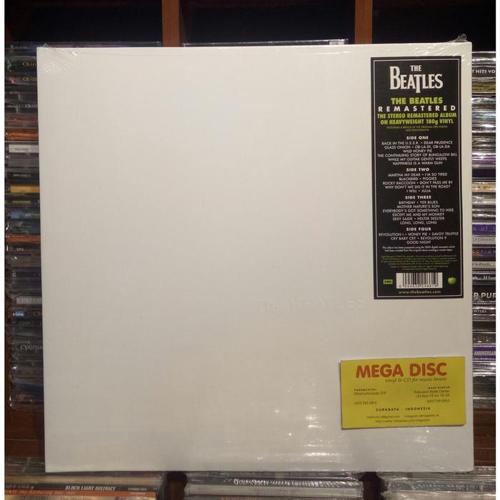 harga Lp the beatles - white album (stereo) (2lp) vinyl record must have Tokopedia.com