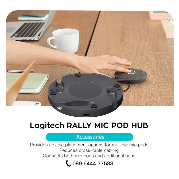 Jual Logitech RALLY MIC POD HUB - DKI Jakarta - Teleconference | Tokopedia
